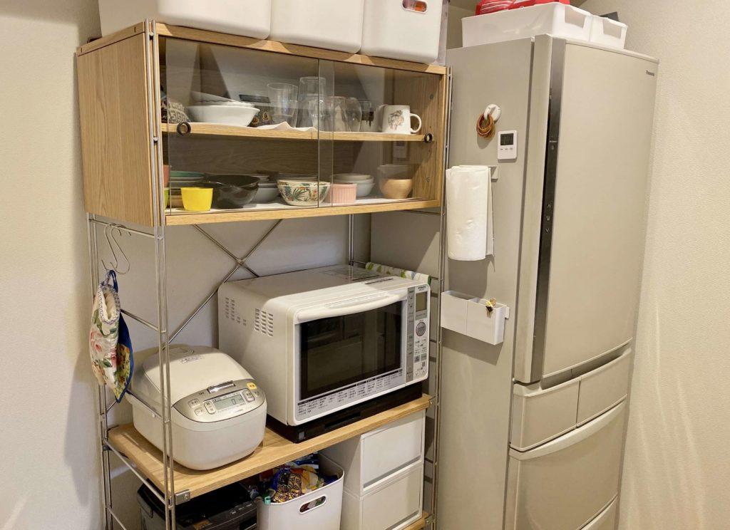 無印良品の食器棚ユニットシェルフの紹介
