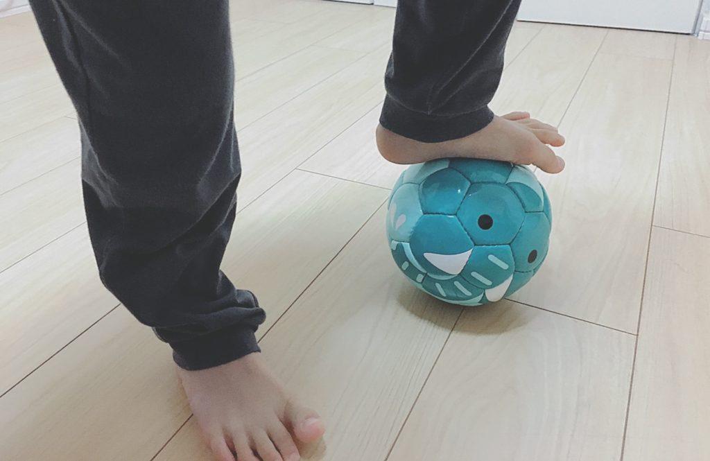 子供も使えるフットボールズー