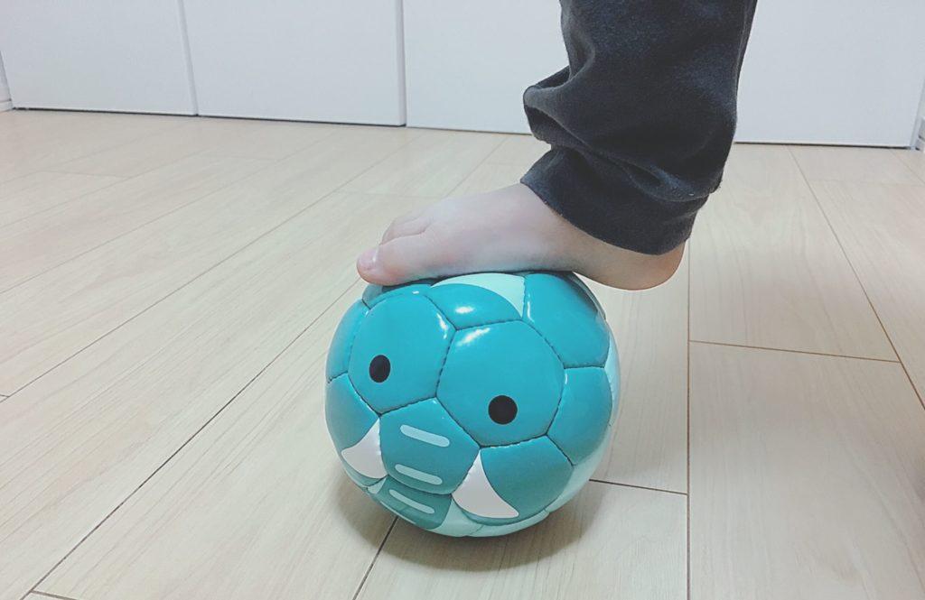 小さなサイズのフットボールズー