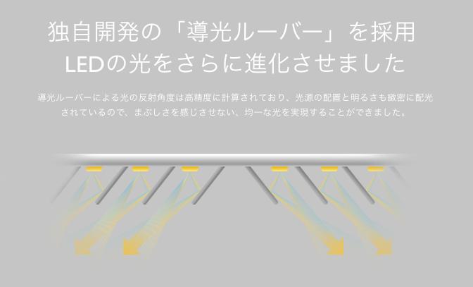 マインドデュオ(MindDuo)のLEDライトの構造