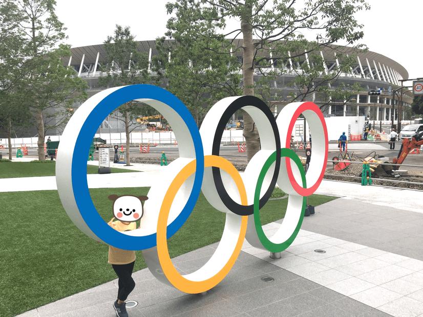 東京オリンピックパークは新国立競技場からも近い
