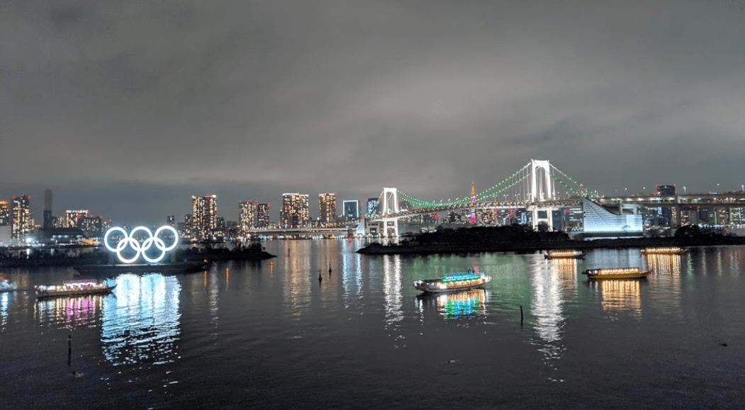 東京五輪シンボルモニュメント