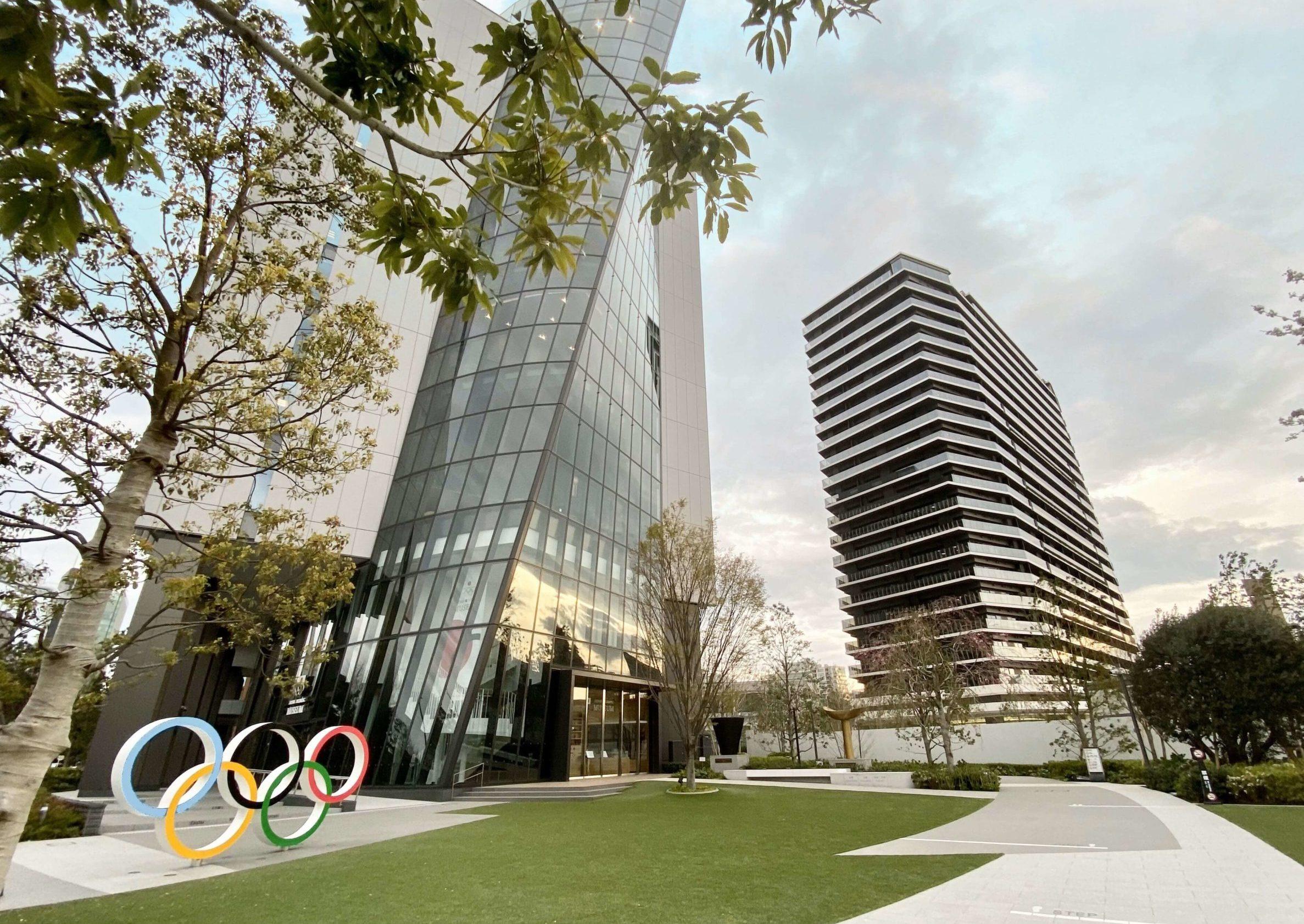 新国立競技場近くの東京オリンピックパーク