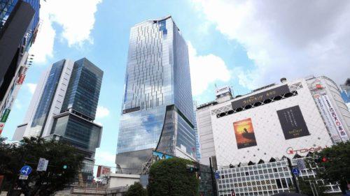 渋谷駅直結のスクランブルスクエア