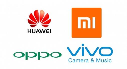 中国のスマートウォッチメーカーの一覧(シャオミ、ファーウェイ、オッポ、ビボ)