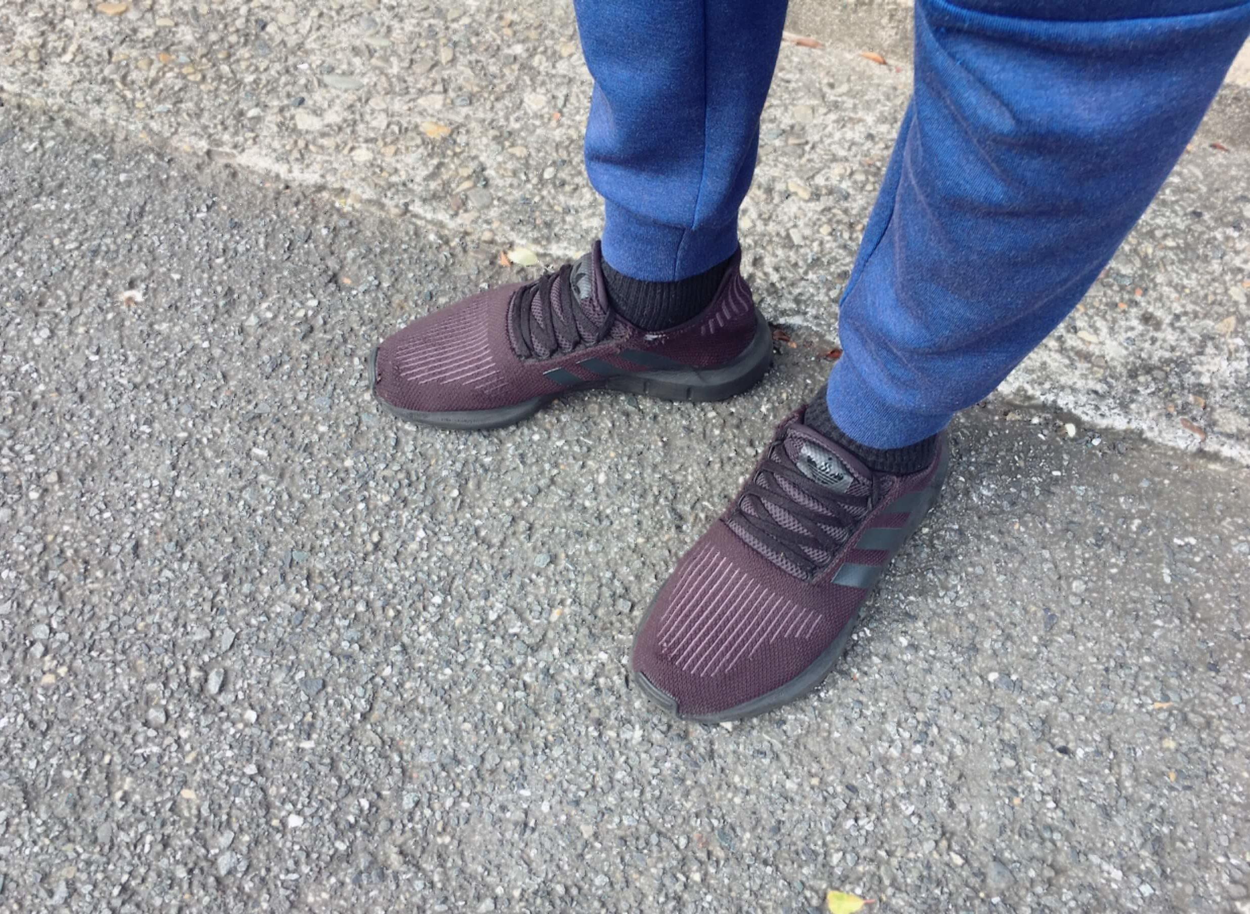 ナイキテックフリースジョガーパンツの丈のサイズ感