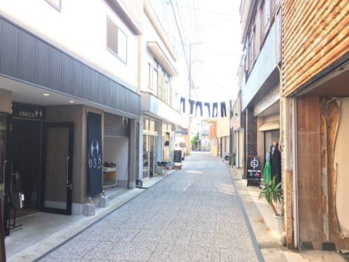 児島ジーンズストリートは宿場町のような雰囲気
