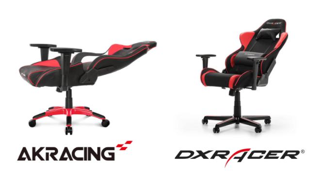 AKRacingとDXRACERのリクライニング角度を比較
