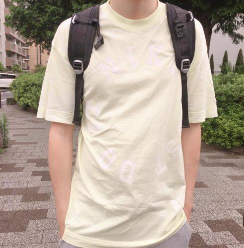 ナイキのメンズTシャツのサイズ感