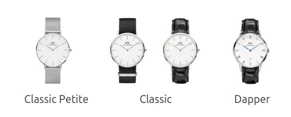 メンズ腕時計ダニエルウェリントンのシリーズを徹底解説