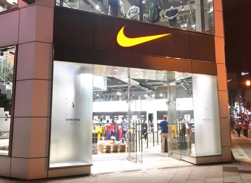 ナイキ大阪は日本初進出時の大規模店舗