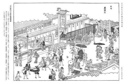 日本橋の薬の歴史