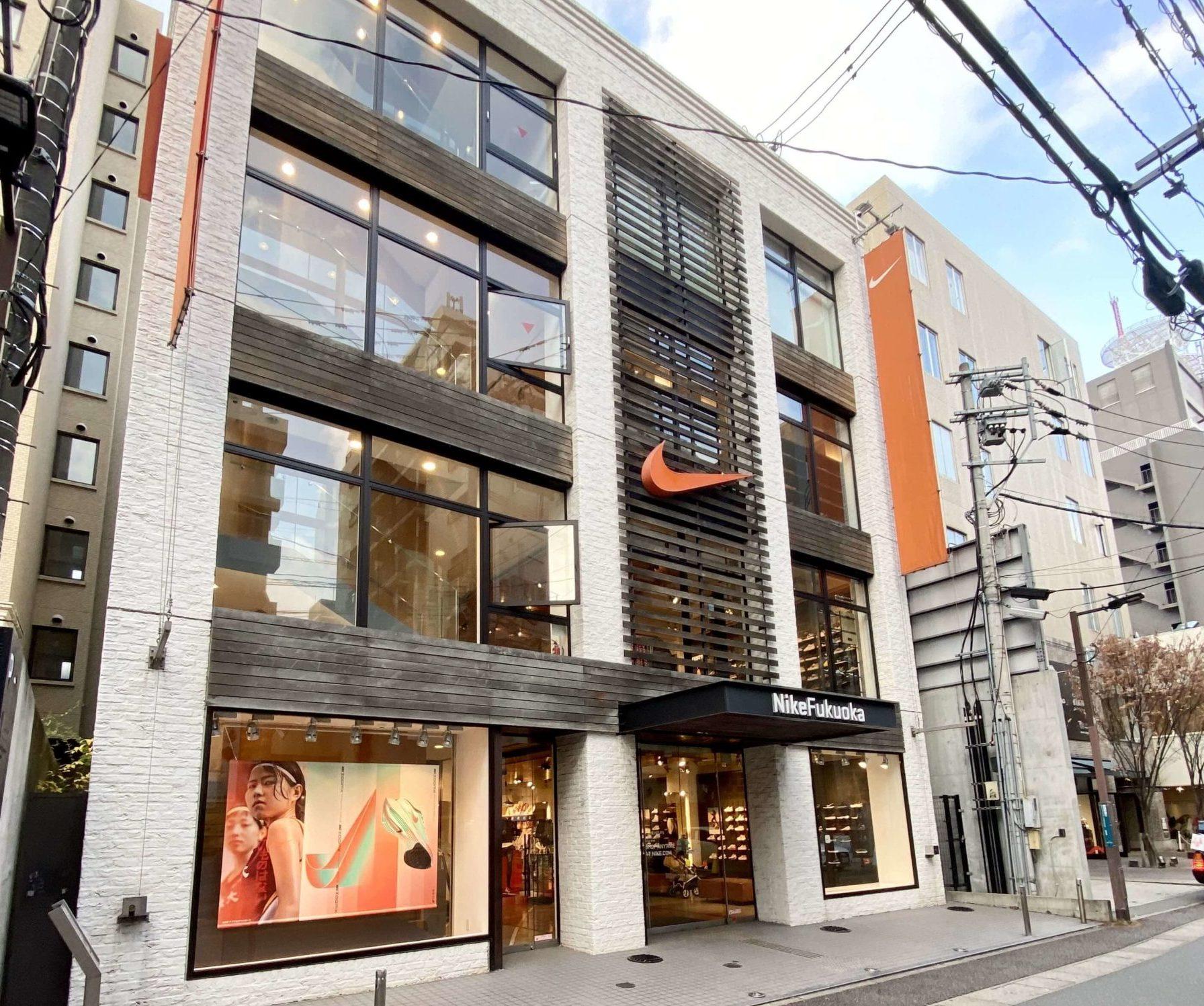 ナイキ福岡の店舗レビュー