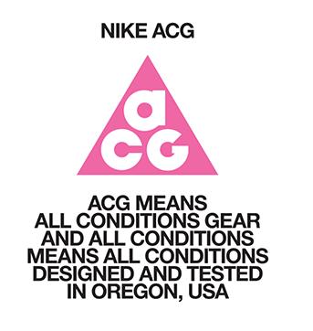 ナイキACGのロゴの詳細