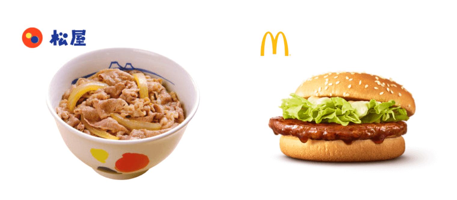 inゼリーストロングは松屋牛丼やマクドナルドハンバーガーにも近い価格