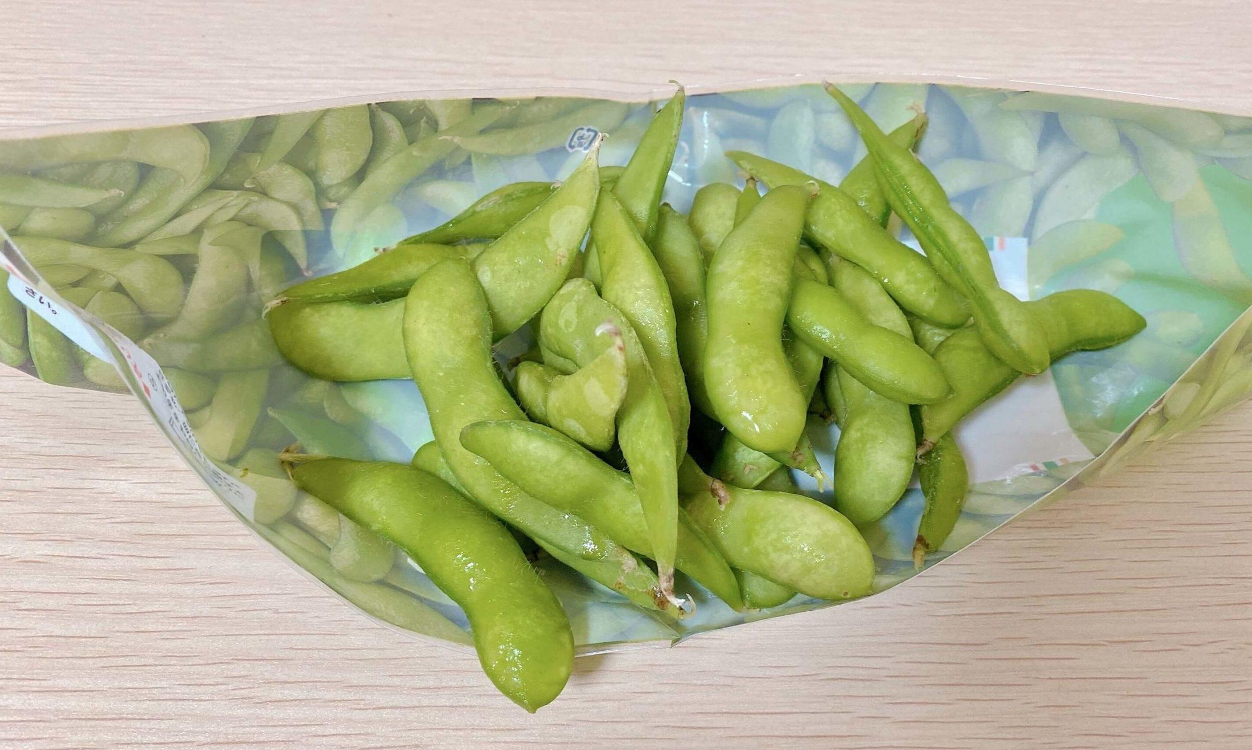 セブンイレブンの枝豆はレンジで温めることも可能