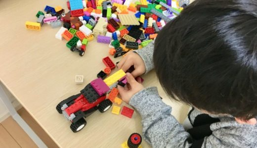 レゴの乗り物やタイヤ好き!レゴデュプロとレゴクラシックタイヤセットをレビュー【アイデアパーツ10715】