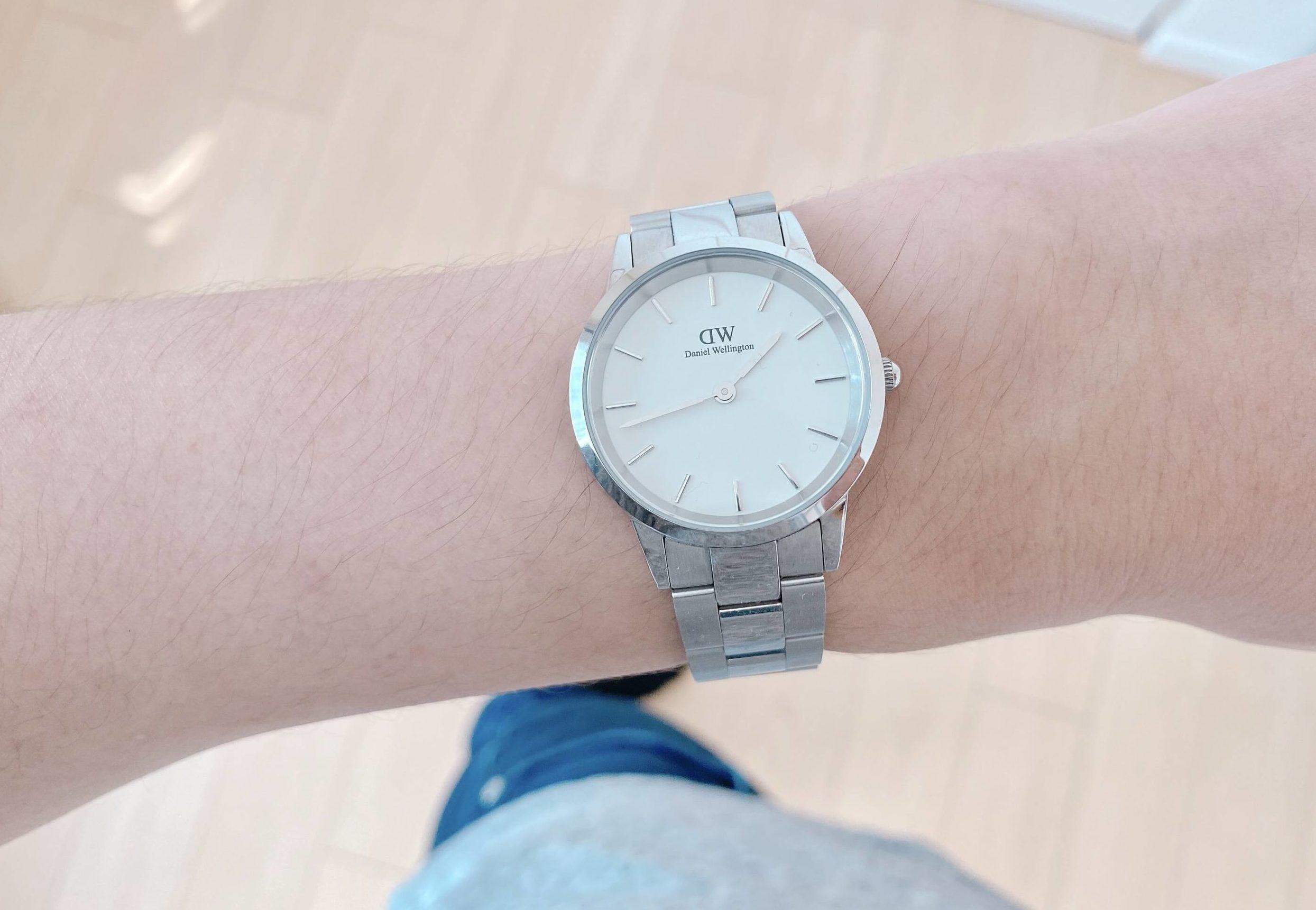 30代男子が買ってよかったもの:ダニエル・ウェリントンの腕時計