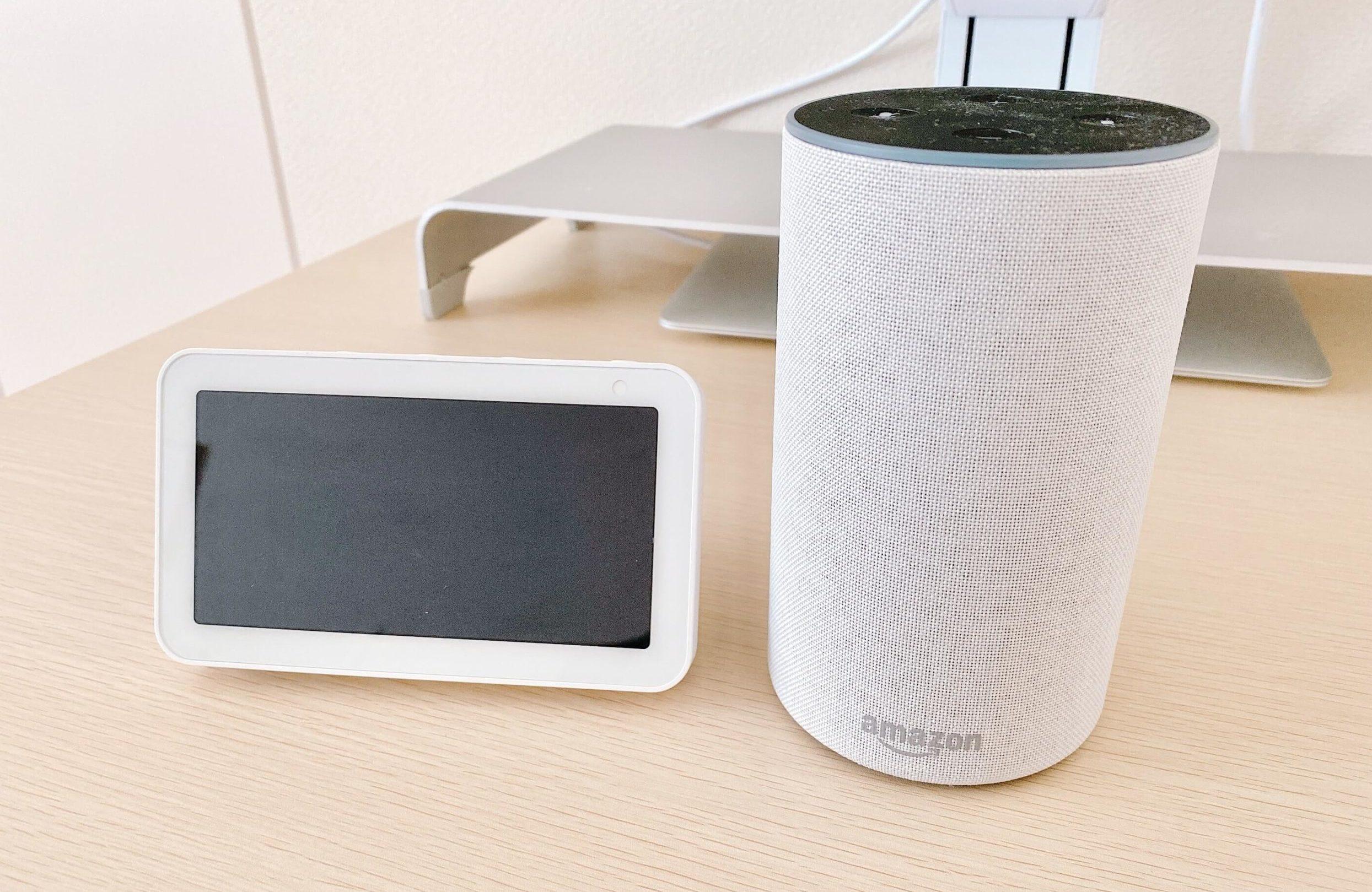 リフレッシュしたい男子が買ってよかったもの:Amazon EchoとEcho Show