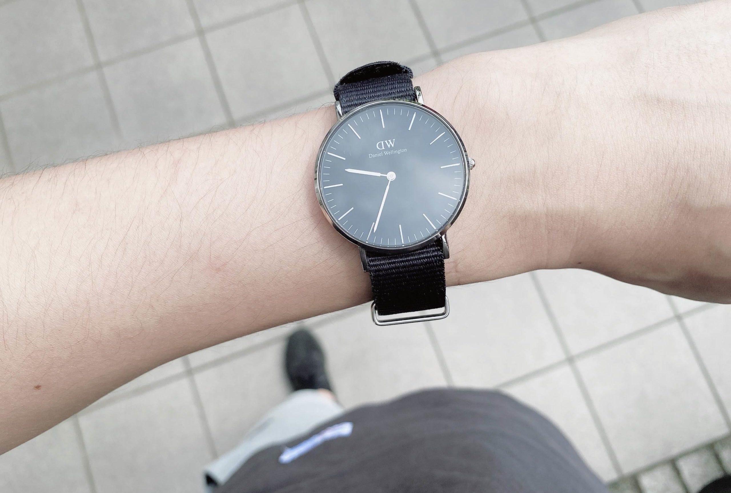 ダサい?ダニエルウェリントンの春夏用メンズ時計をレビュー