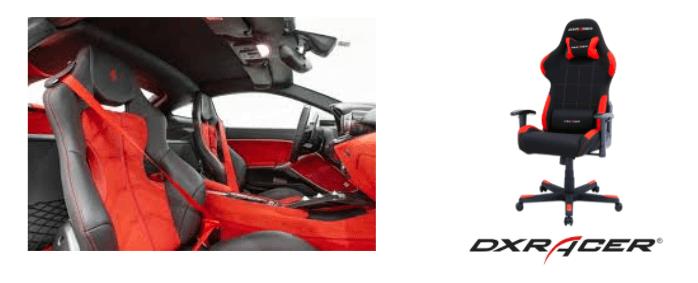 AKRacingとGTRACINGの原型はレーシングシート