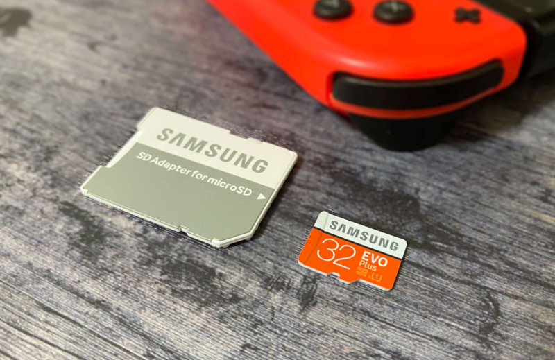 Nintendo SwitchにおすすめのSAMSUNG製のSDカード