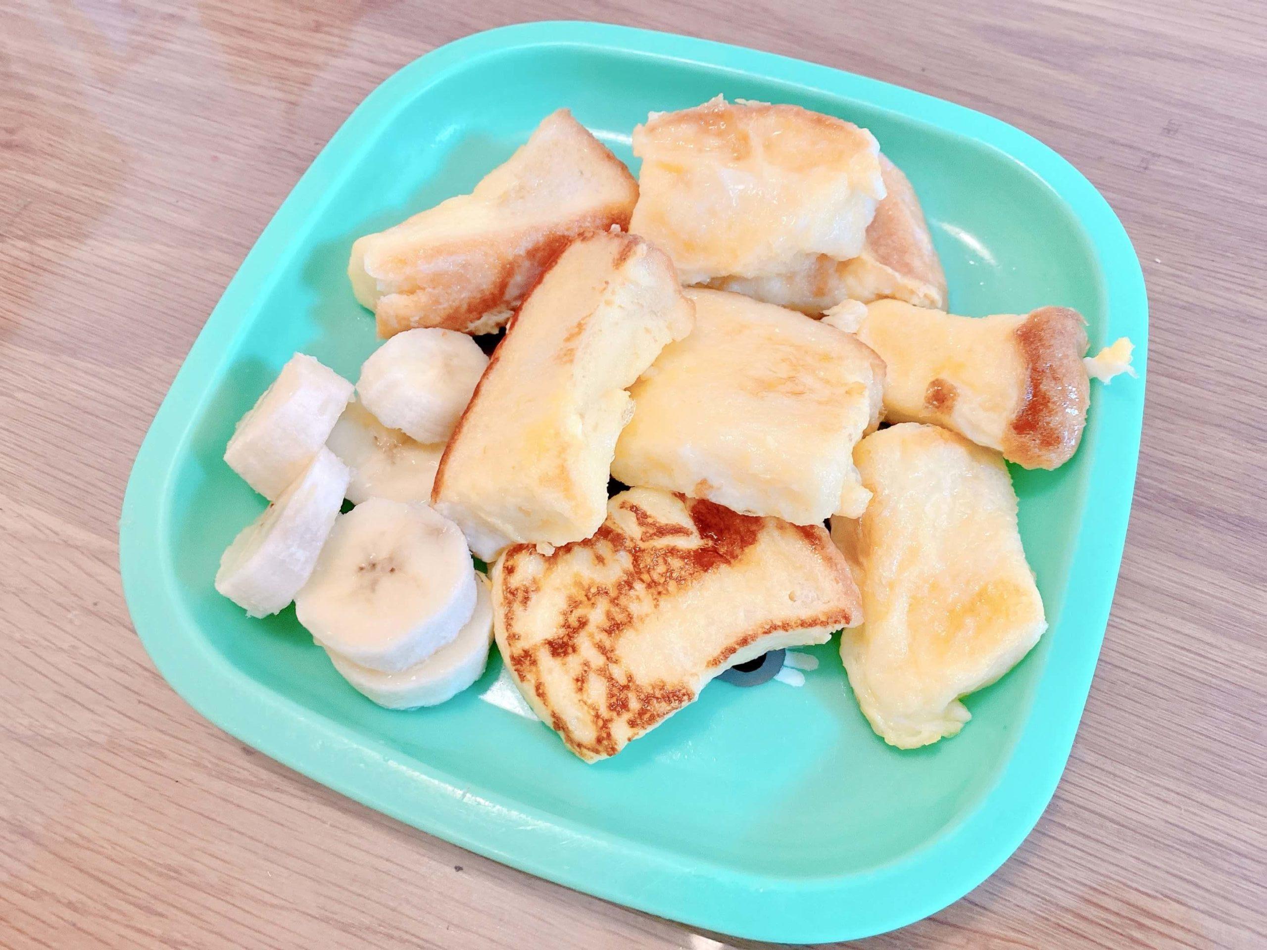 成城石井で購入したエシレバターを使ったフレンチトースト