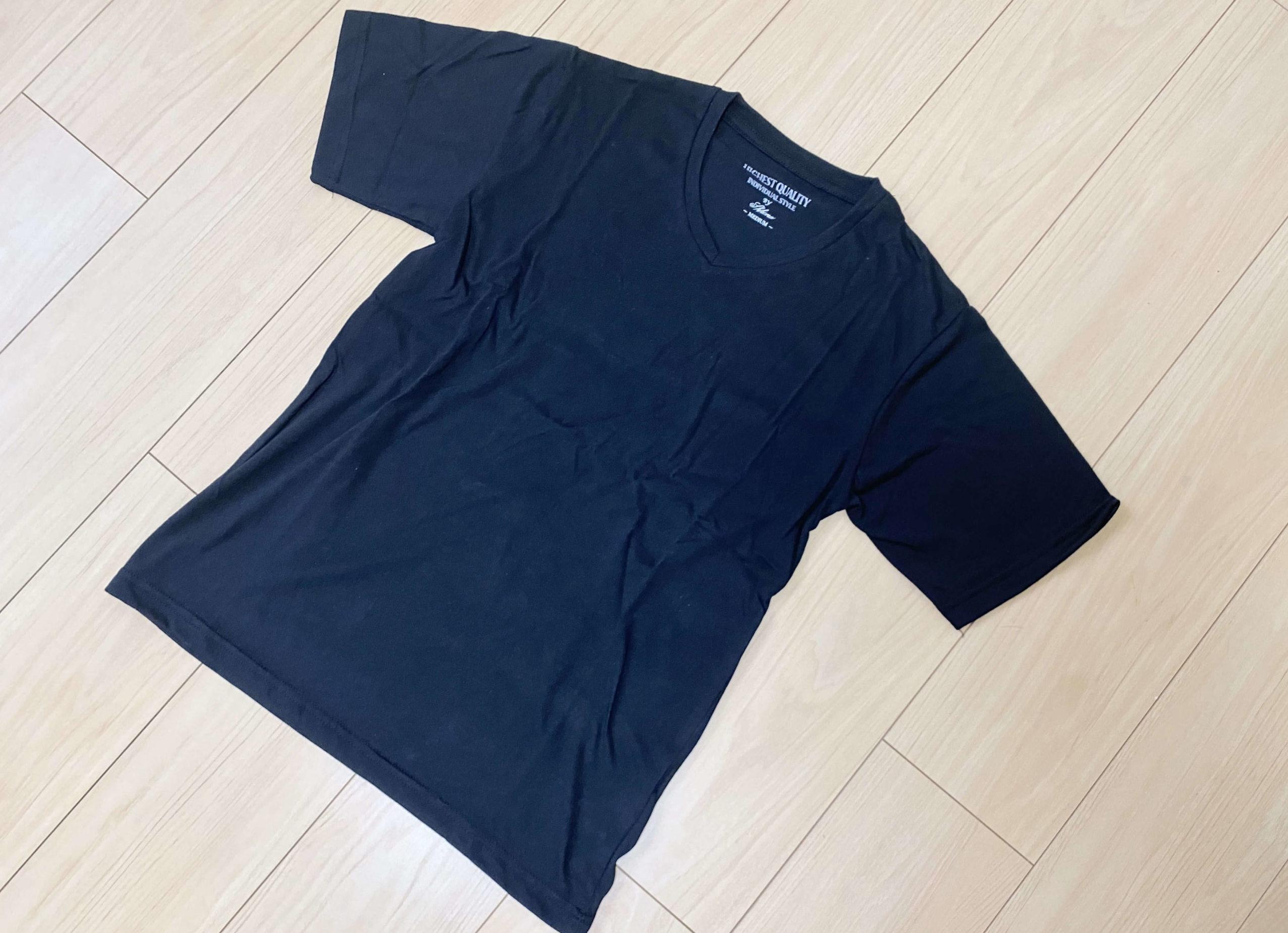 メンズファッションプラスで購入したTシャツ