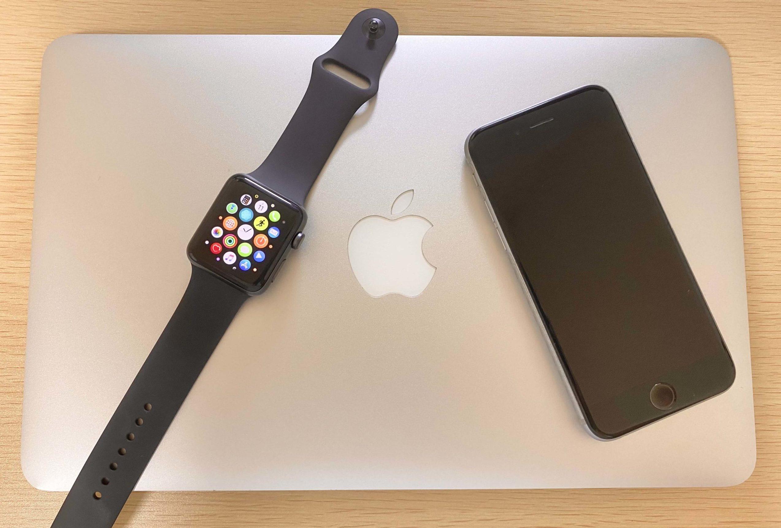 Applewatchと中華スマートウォッチを比較