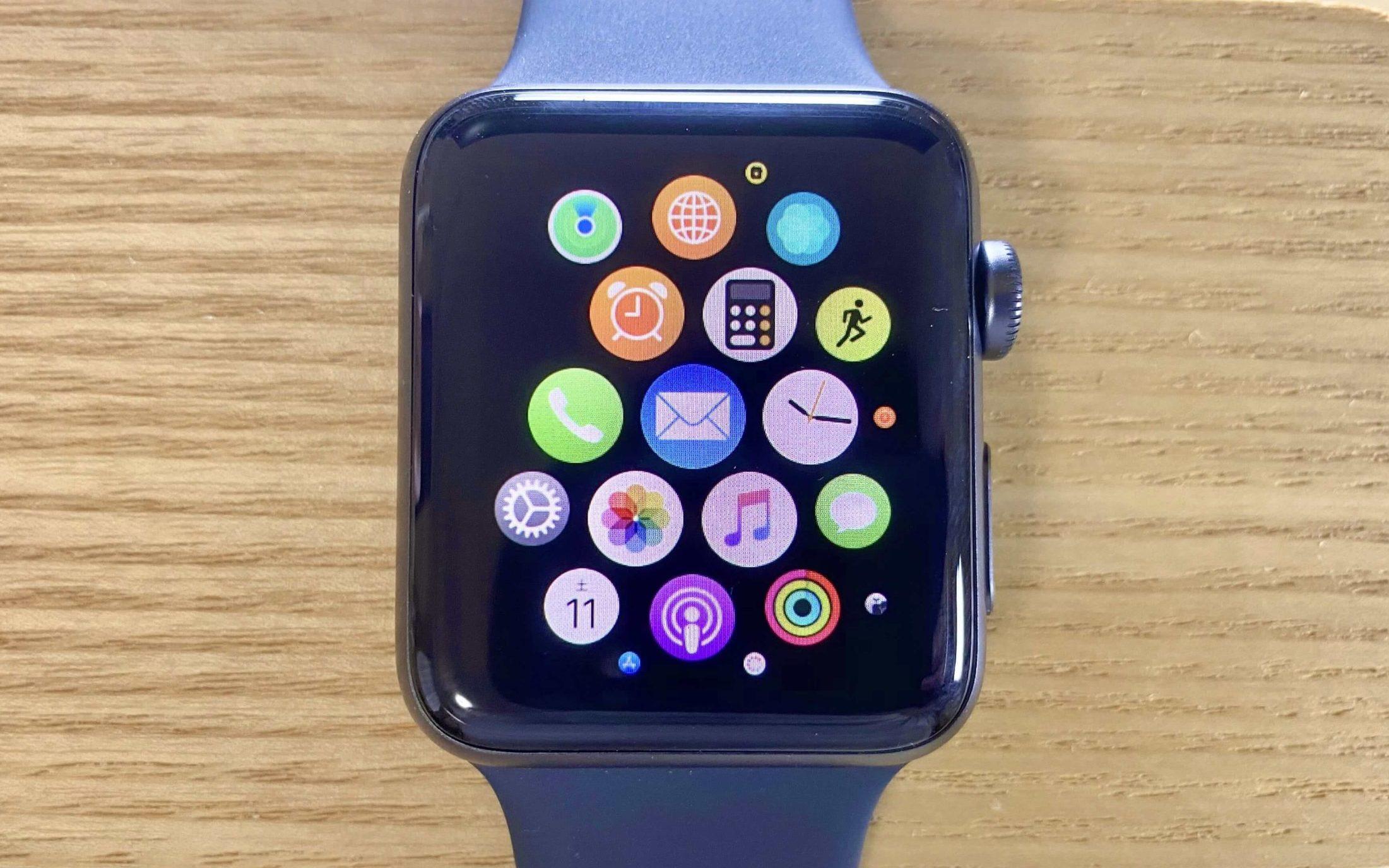 中華スマートウォッチとApplewatchの外観の違い