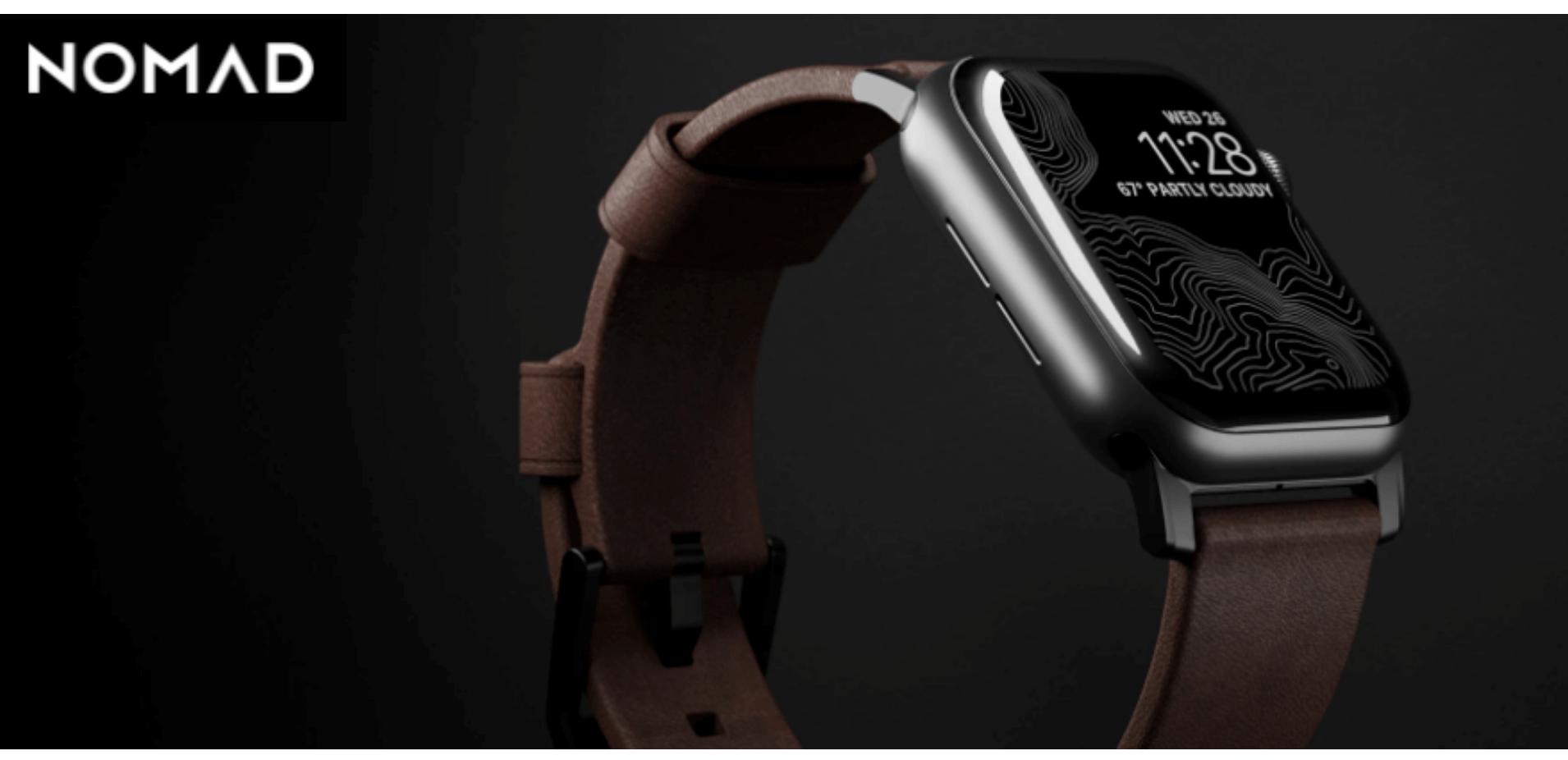 ビジネスに合うApple WatchのNOMAD製品
