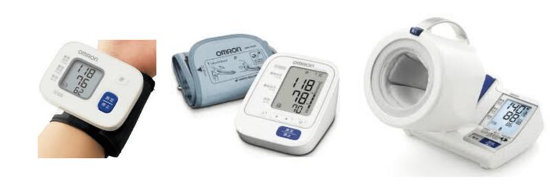 オムロンの血圧計の一覧