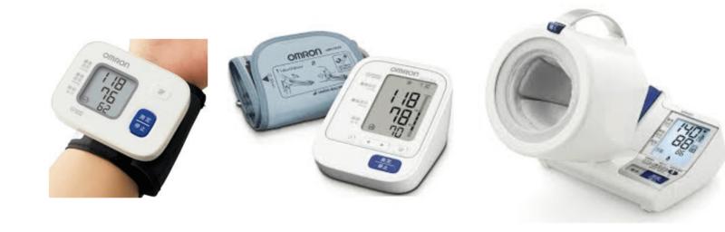 血圧測定計の一覧