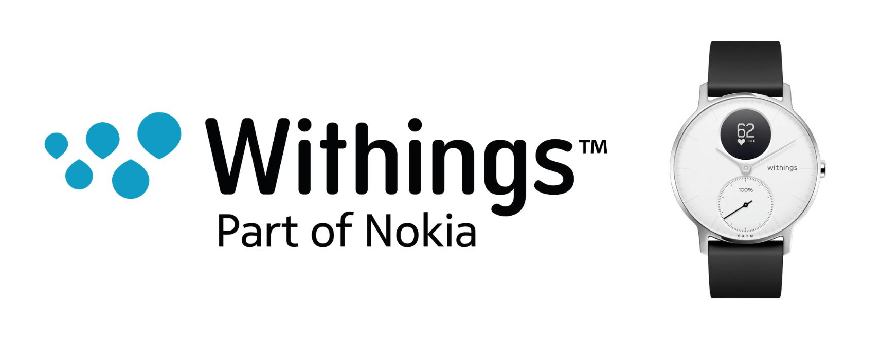 Withingsノキアのスマートウォッチ