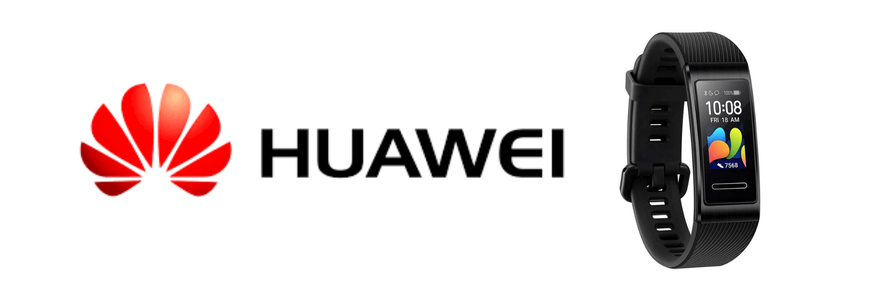 HUAWEIのスマートバンド