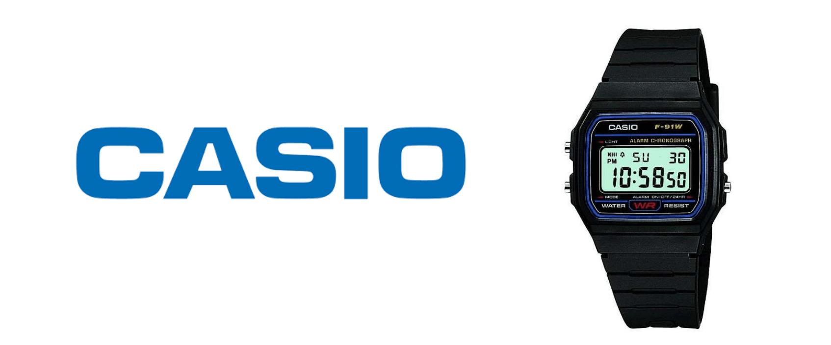 ダイソー腕時計とチープカシオを比較
