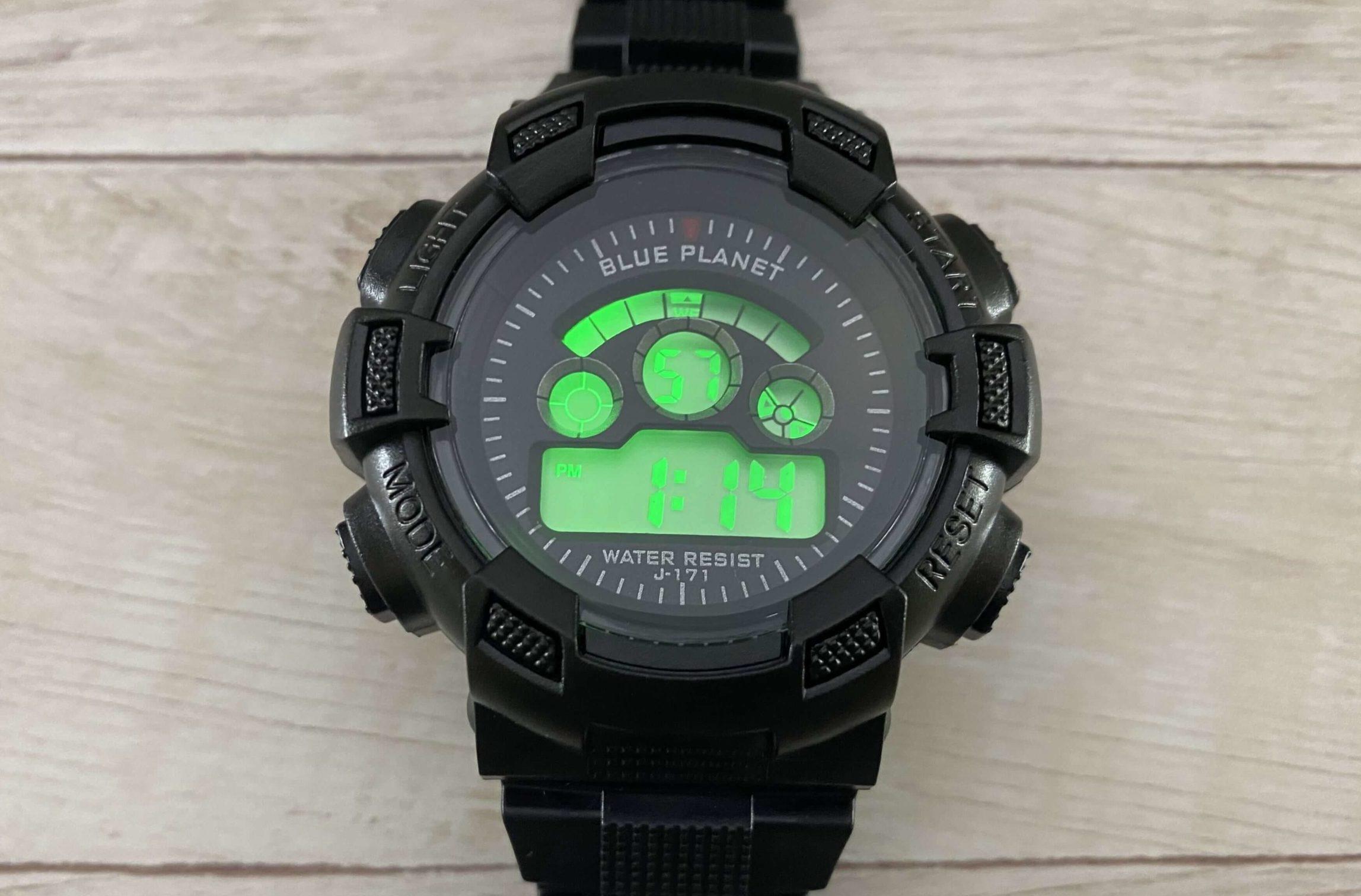 ダイソーの300円腕時計の機能