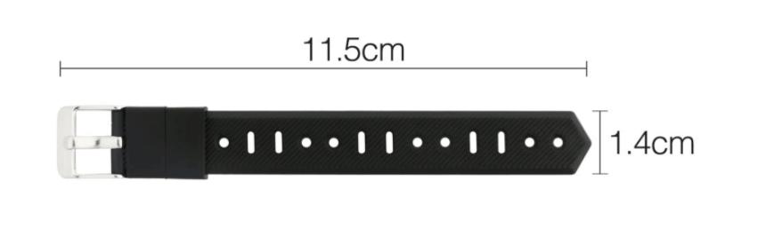 足首用の活動量計の延長バンド