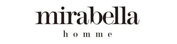 おすすめマネキン買いメンズ通販のmirabellaのロゴ