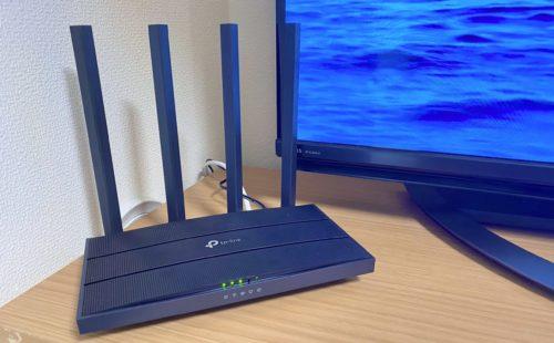 TP-LinkのアプリでWi-Fi無線LANルーターを設定