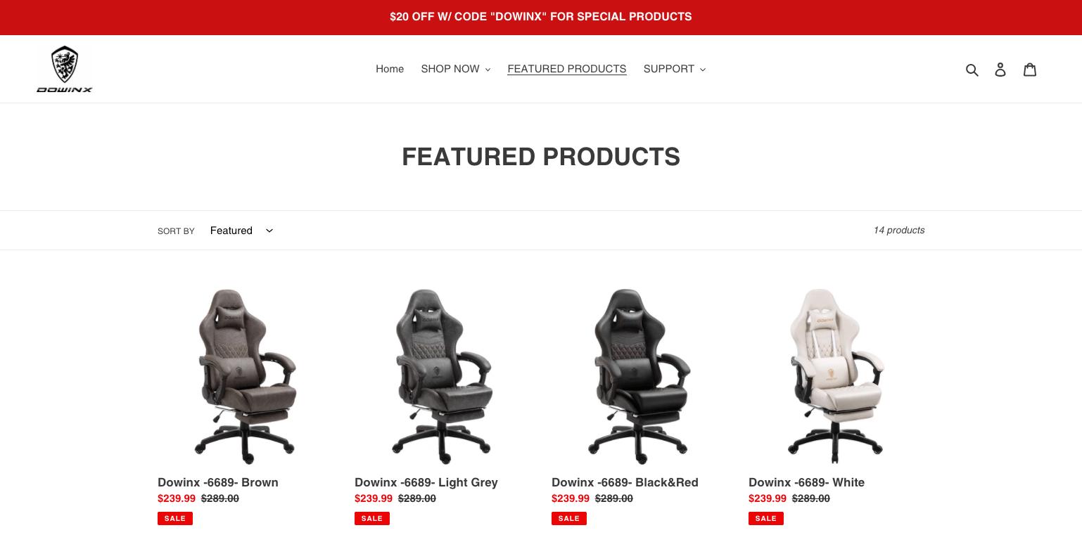 Dowinxの公式サイト