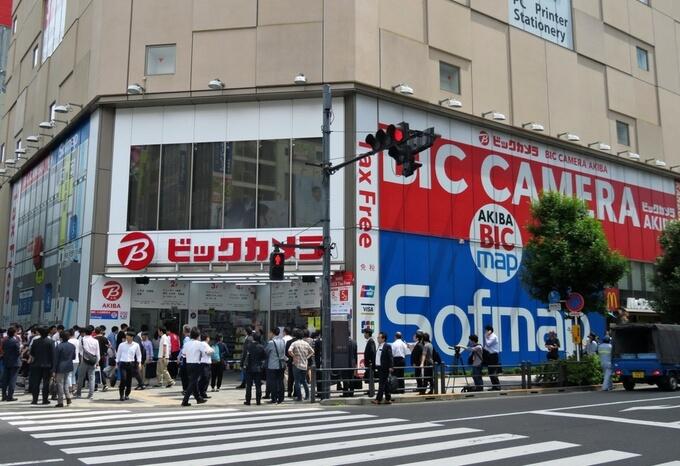 ヨドバシカメラ秋葉原店の外観