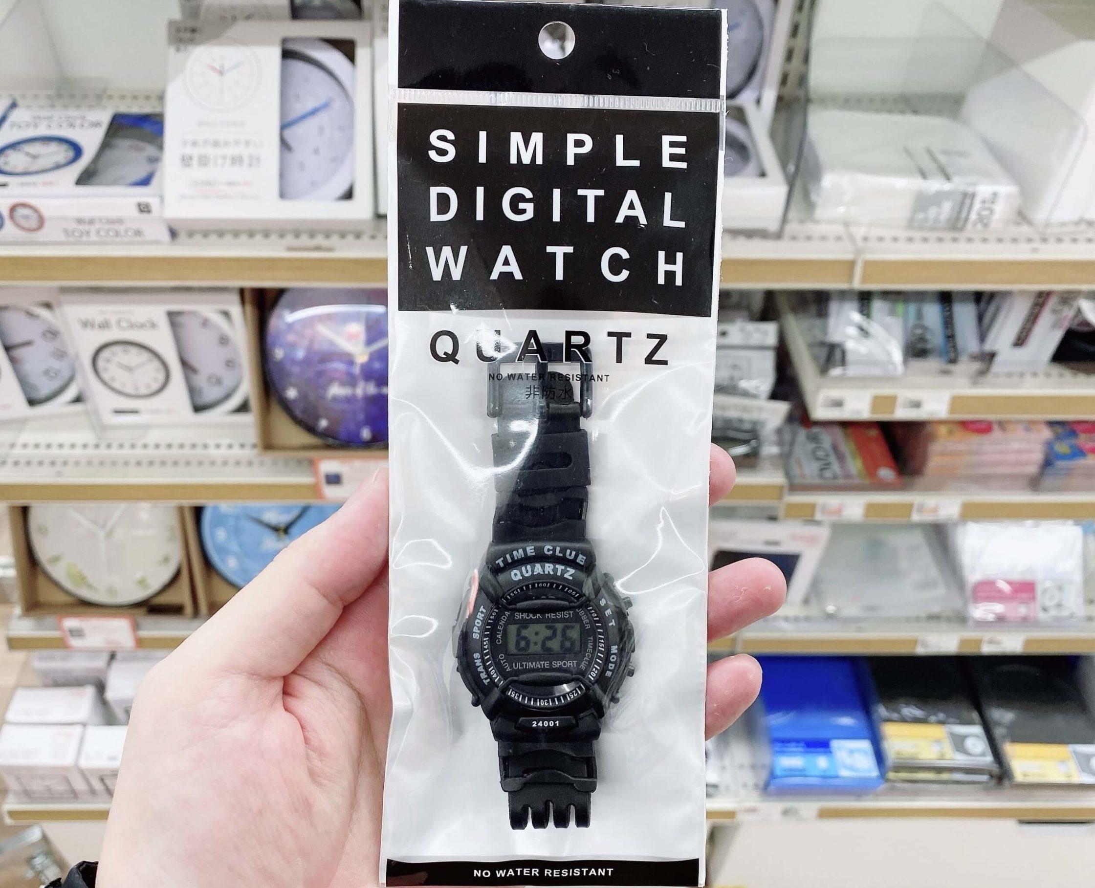 キャンドゥの腕時計