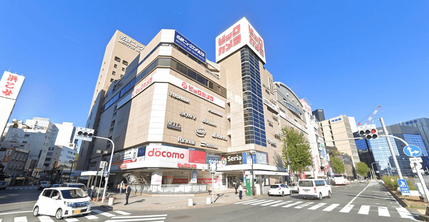ゲーミングチェアを扱うビックカメラ名古屋駅西店