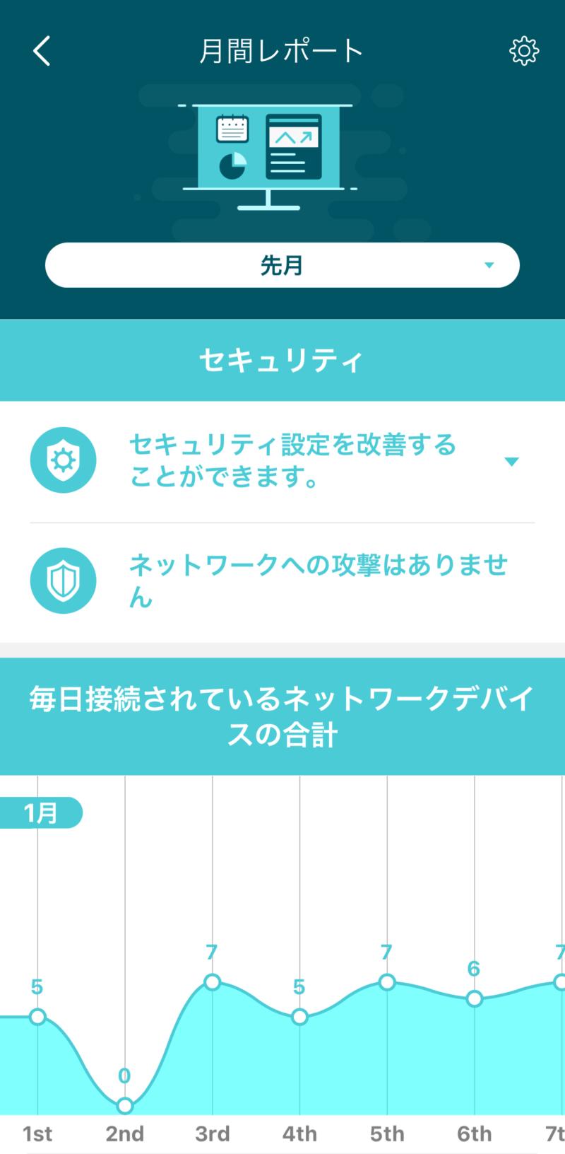 TP-Link Deco X20のアプリ