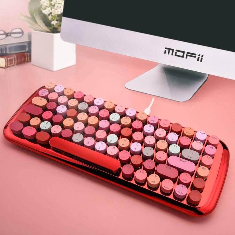 オシャレで可愛い女子向けキーボード