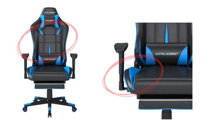 GT901とGT909の違いのデザインと座面