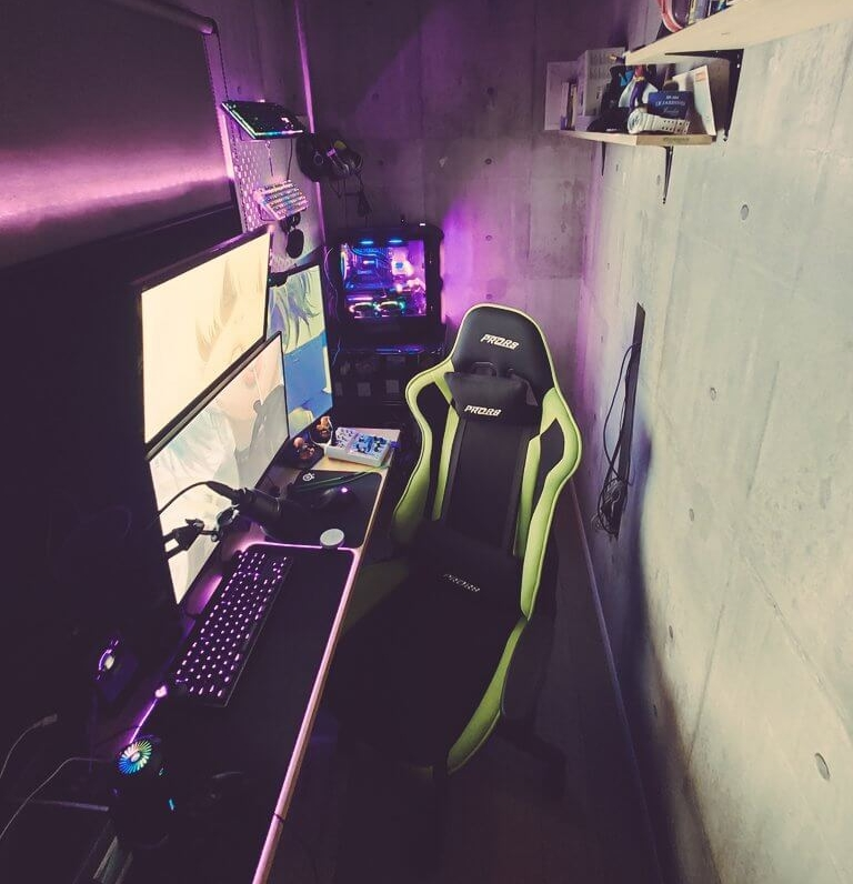 3畳程度のゲーム部屋