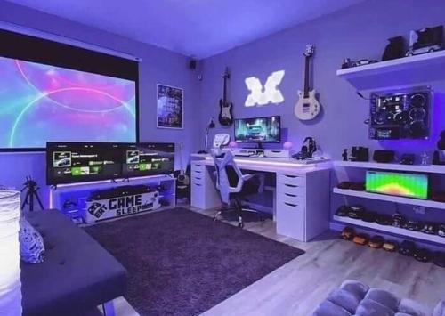 ワンルームのひとり暮らしゲーム部屋