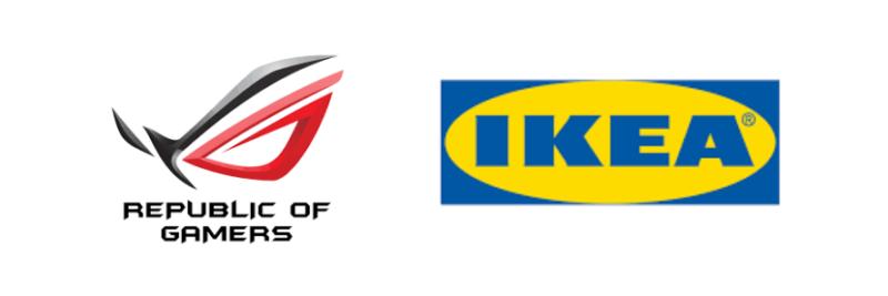 IKEAとASUSとのコラボのゲーミングチェア